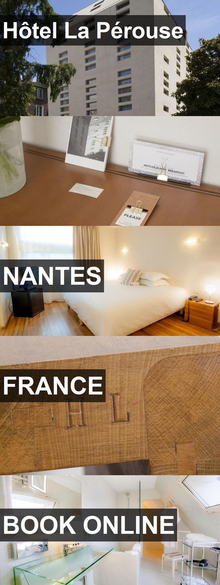 Hotel Hôtel La Pérouse in Nantes, France. For more information, photos, reviews and best prices please follow the link. #France #Nantes #travel #vacation #hotel