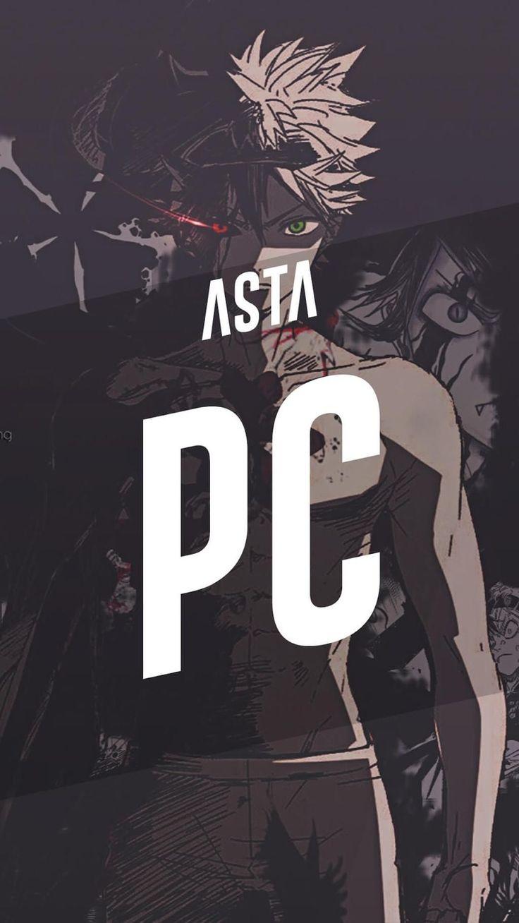 192k members in the blackclover community. Pc Asta Black Clover Wallpaper Korigengi Anime Wallpaper ...