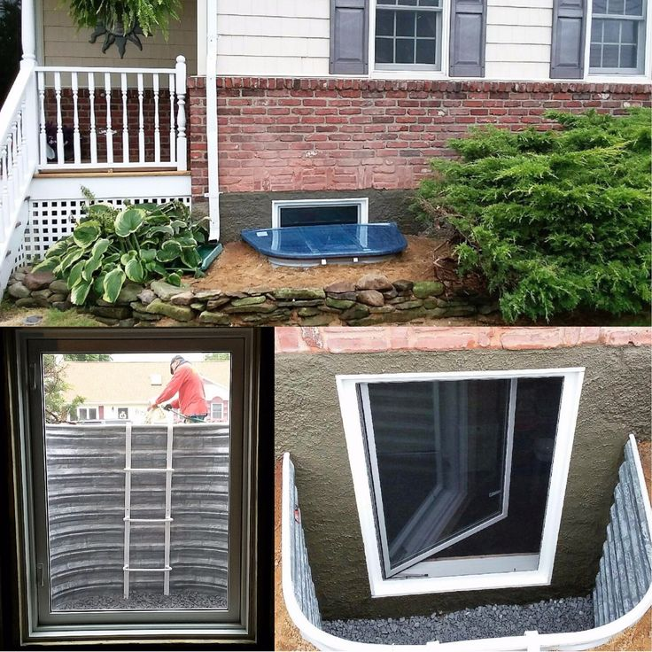 26 Best Beautiful Egress Windows Images On Pinterest