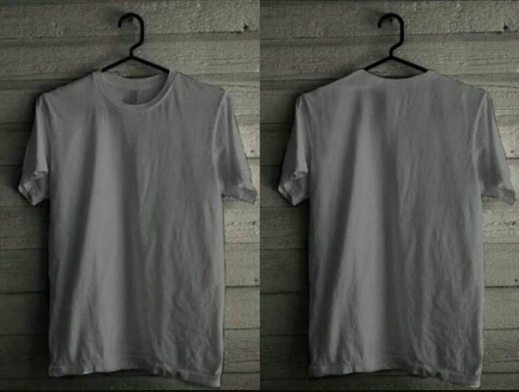 Download Kaos Polos Depan Belakang Desain Model Pakaian Kaos Baju Kaos