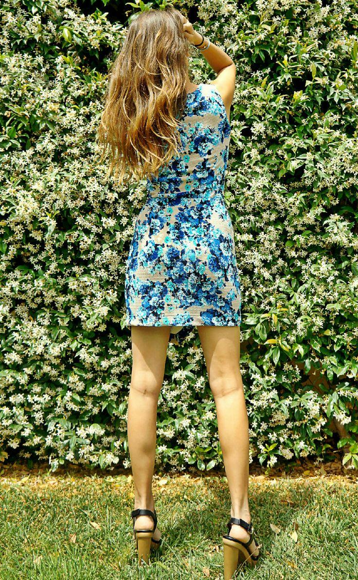 Φόρεμα εμπριμέ ελαστικό
