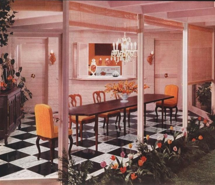 1188 best Retro images on Pinterest | Home interior design, 70s home ...