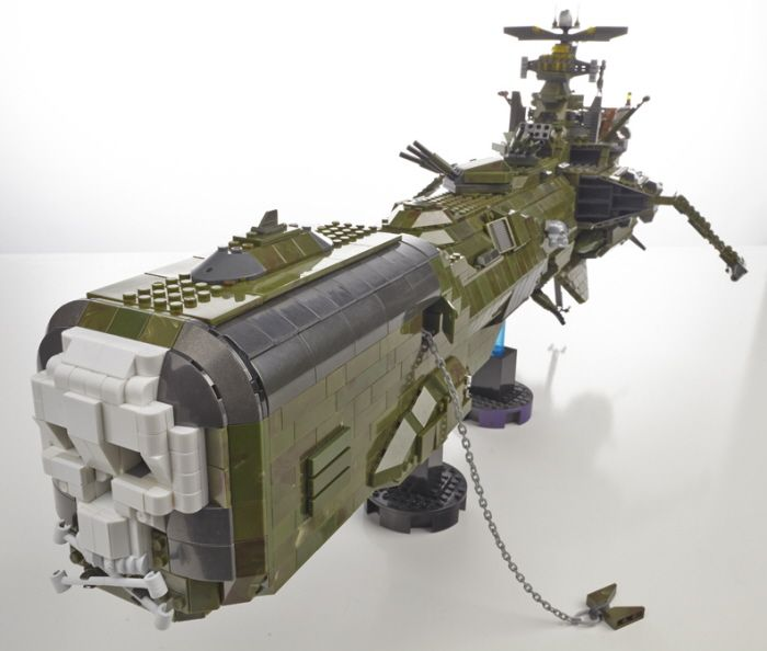 Personal Project Using Mega Bloks Halo Series To Build The