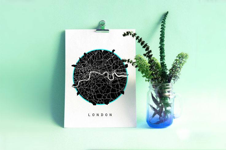 London Map, Europe Map, World Map, Pakistan Map, Black And White Map, Minimalistic Map, Minimal Map, Black Map, White Map, Minimal Map by SomethingArtStudio on Etsy