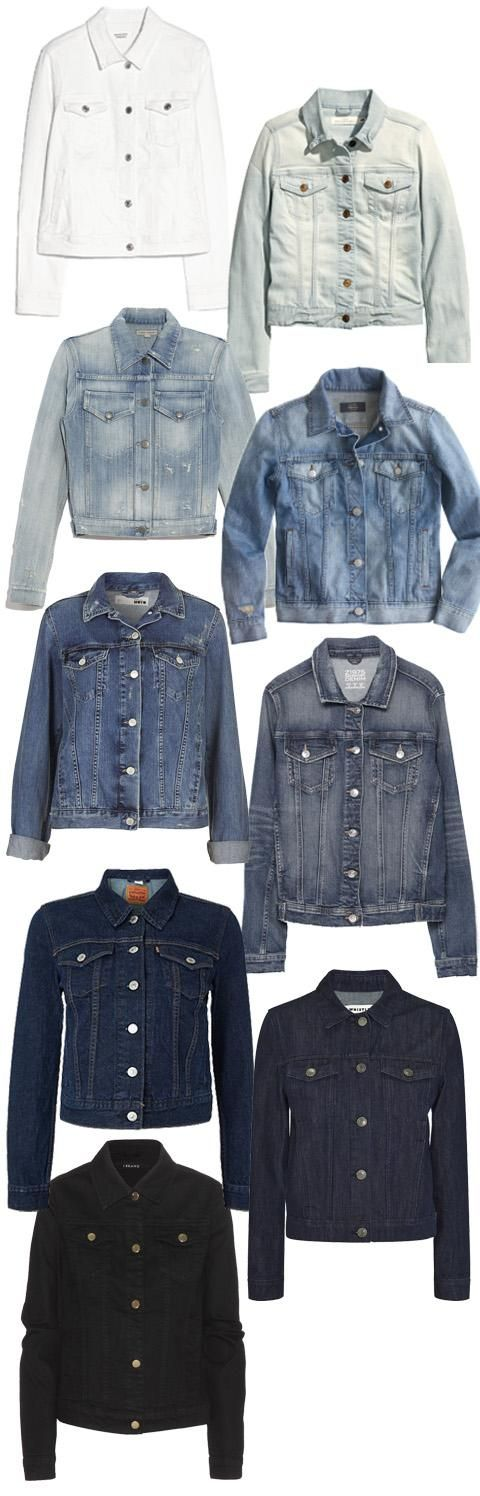 Shop our favorite denim jackets | InStyle.com