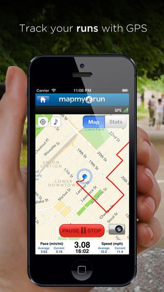Map My Run - GPS Running, Jog, Walk, Workout Tracking and Calorie Counter
