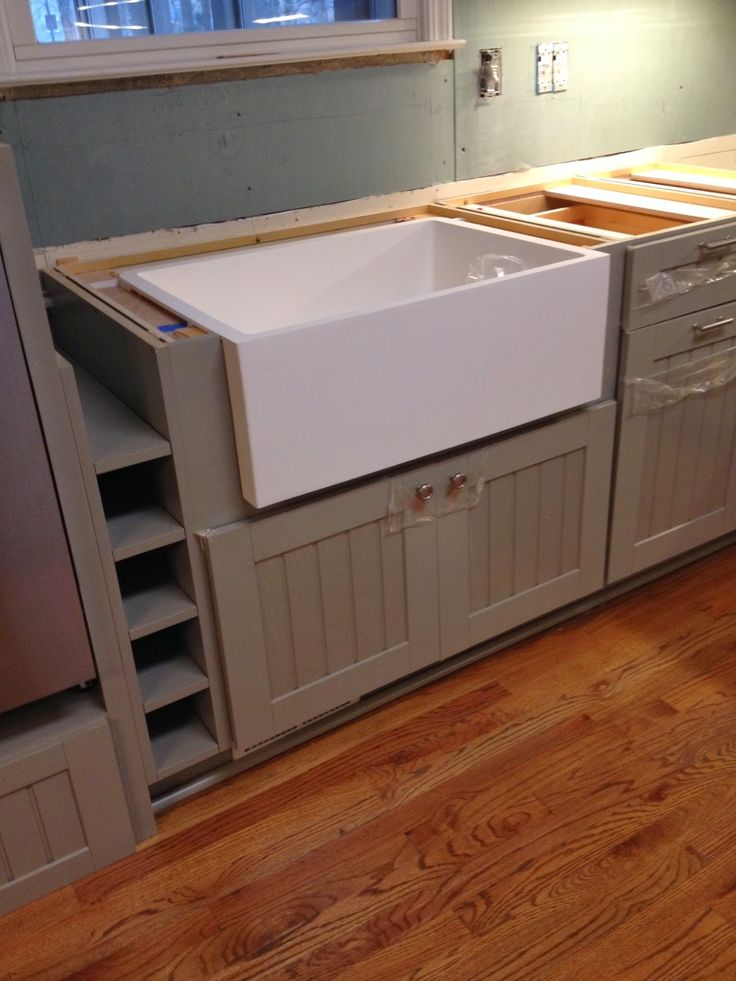 Corian Farmhouse Sink