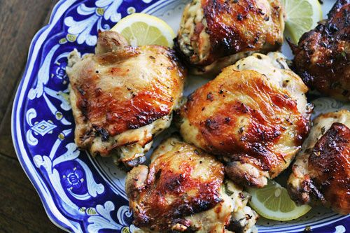 Yummy Lemon-Garlic Chicken Thighs! #bossgarlicchicken #homemade