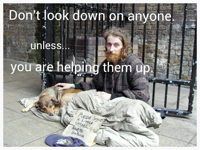 Best thing about hookup a homeless girl
