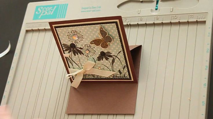 Easel Card.  Printable instructions at  http://www.splitcoaststampers.com/resources/tutorials/easelcard#?printable=true