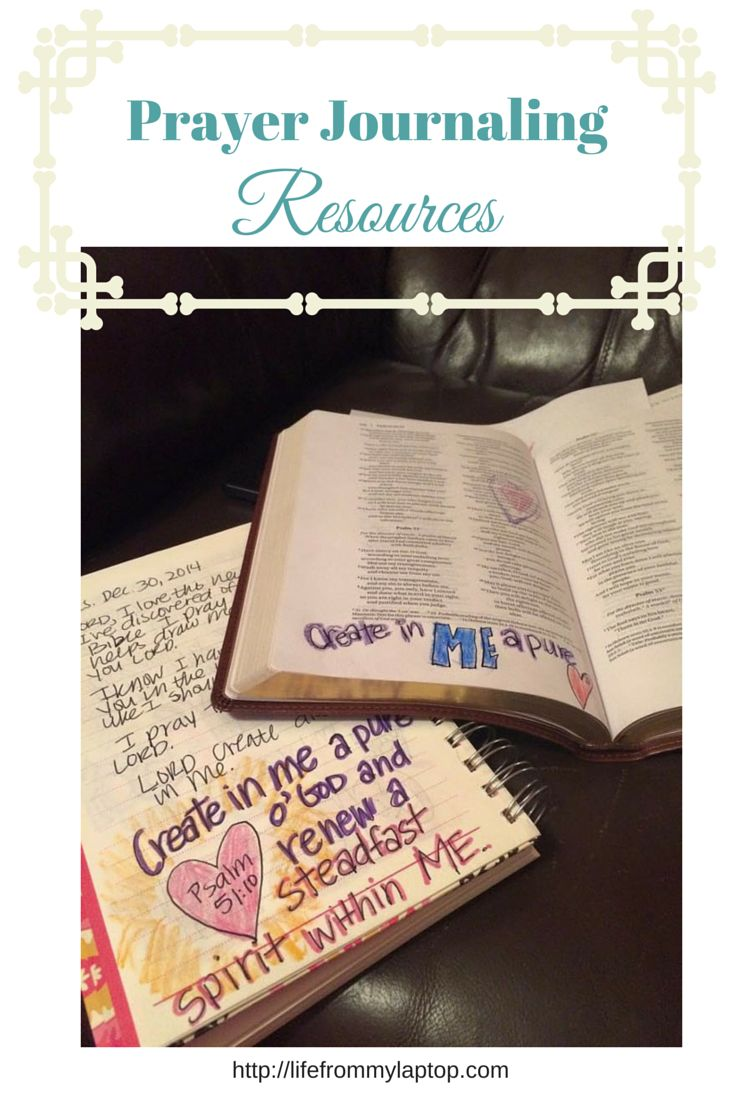 Though not required, these prayer journaling resources can enhance your journaling experience.