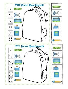 Take turns rolling the dice. First person to fill their backpack with all their supplies wins! Fun icebreaker game to havestudents work on in groups while you organize the suppliesbrought into school! ForOUR Mega Back to School Pack - ClickHere! CopyrightColleen Gallagher 2013 - Teaching Heart:Click for the WebsiteClick for the blogClick for FacebookSee Our Back To SchoolIdeas - Click !