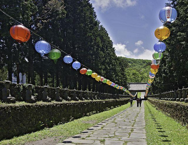 Gwaneumsa Temple on Jeju Island