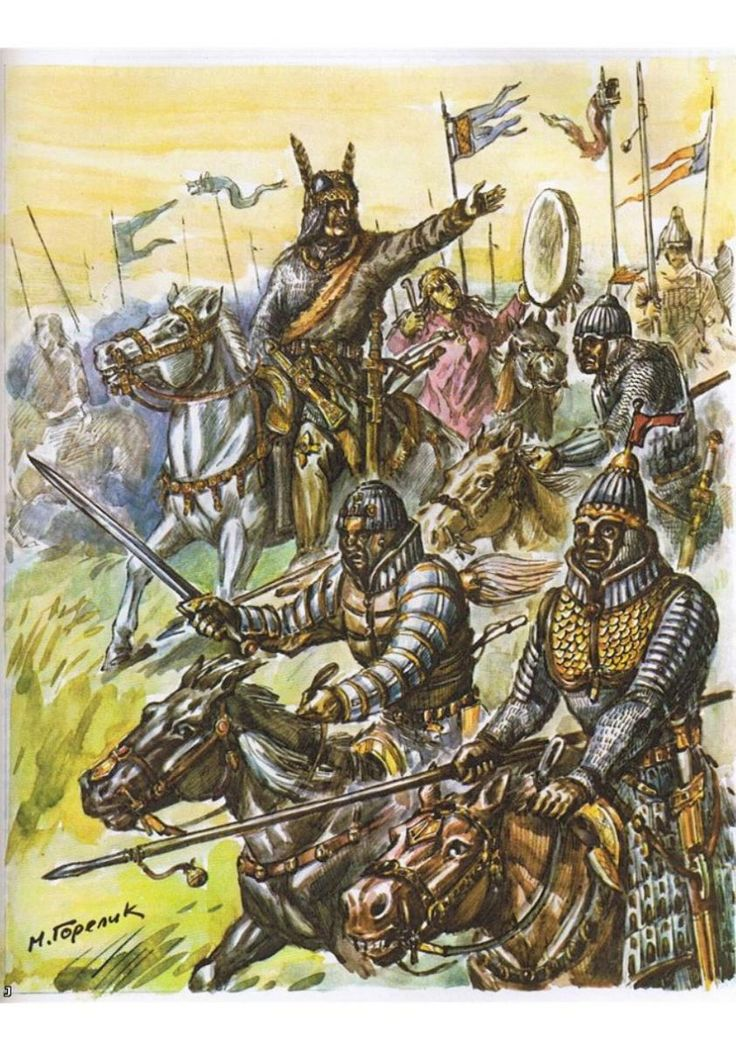 Heavily armoured Huns