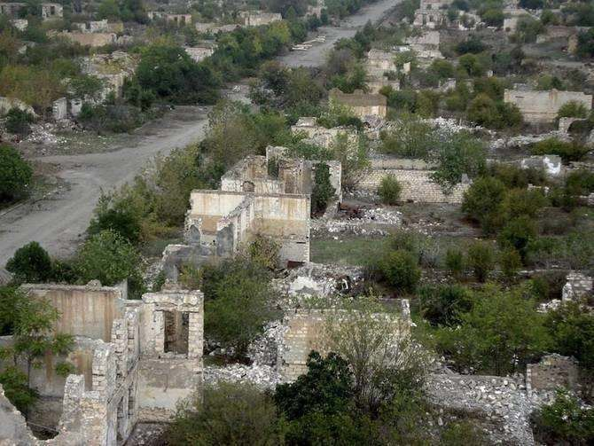 Agdam,Azerbaijan - Agdam was fully destroyed in 1993 in the Nagorno-Karabakh War. Before the war the city population was about 30000 residents.