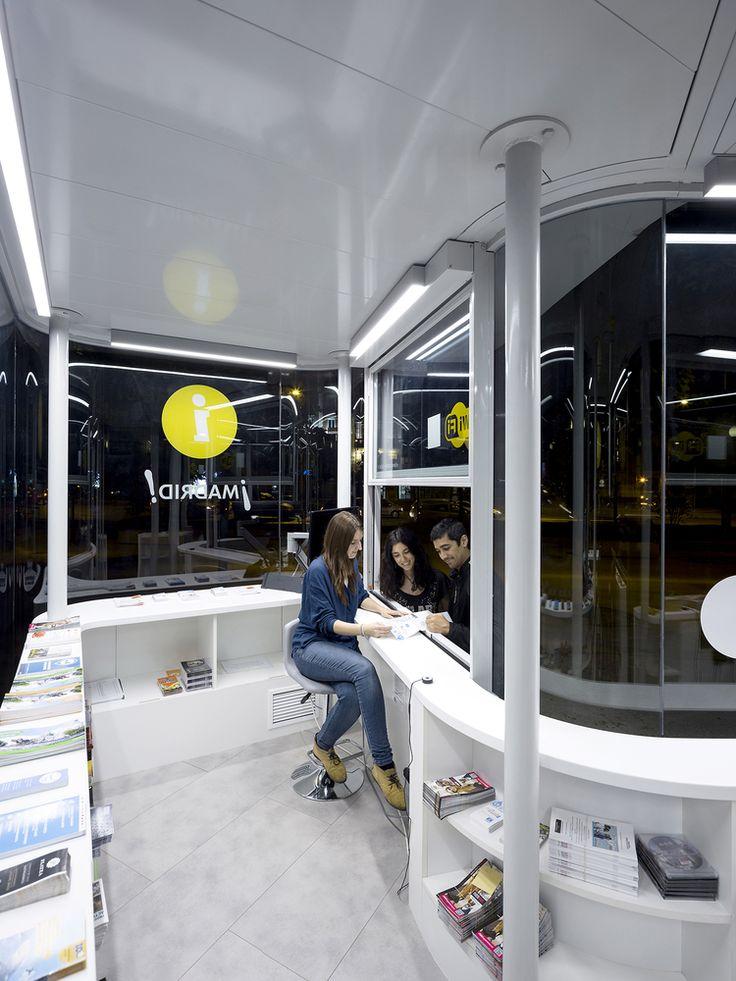 Gallery of Madrid Tourist Information Pavilions / José Manuel Sanz Arquitectos   Irene Brea - 2
