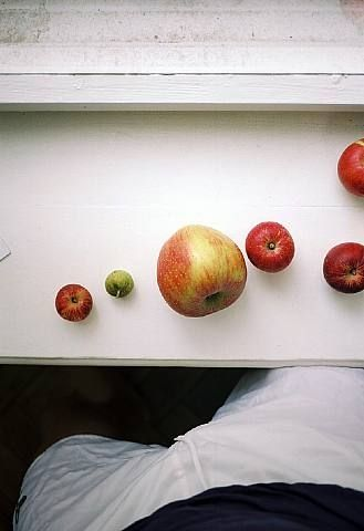 Untitled (apples 2008) by Wolfgang Tillmans