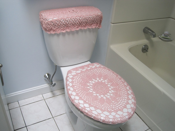 Crochet Pattern   Toilet Seat Cover for Both Standard and Elongated Toilet  Seats  8VC2012 17 best seat covers images on Pinterest   Toilet seats  Toilets  . Oblong Toilet Seat Cover. Home Design Ideas