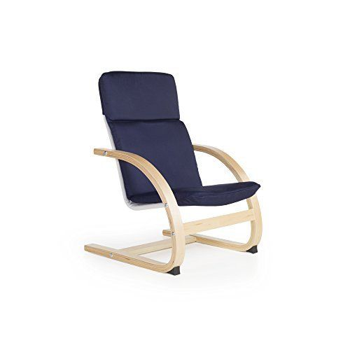 Inspired by Scandinavian design, the Guidecraft Nordic Rocker is a functional, while still elegant, chair for home, schools, libraries or reading centers. Steam bent plywood contours and smooth edges offer a modern design. Seat cover features comfortable cushions and is removable and washable.... more details available at https://furniture.bestselleroutlets.com/children-furniture/chairs-seats/armchairs/product-review-for-guidecraft-nordic-rocker-blue-cushioned-chair-kids-furn