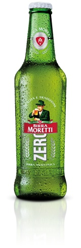 Birra Moretti Zero is the first zero alcohol beer from Italy and it was created for those who want to enjoy their beer without having to deal with the effects of alcohol. Very important is that the extraction of alcohol is through vacuuming, so that the taste of beer is the same as a normal beer, with alcohol.