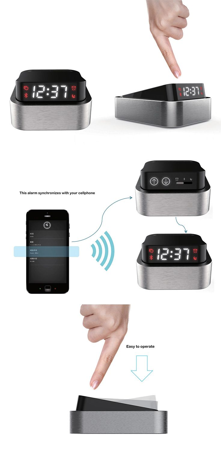 Simply called the 'ON/OFF Alarm Clock', its oversized on/off switch form makes waking up and going to sleep feel a lot like that! Intuitive and easy-to-use, just press the sides of the switch to activate and deactivate... READ MORE at Yanko Design !