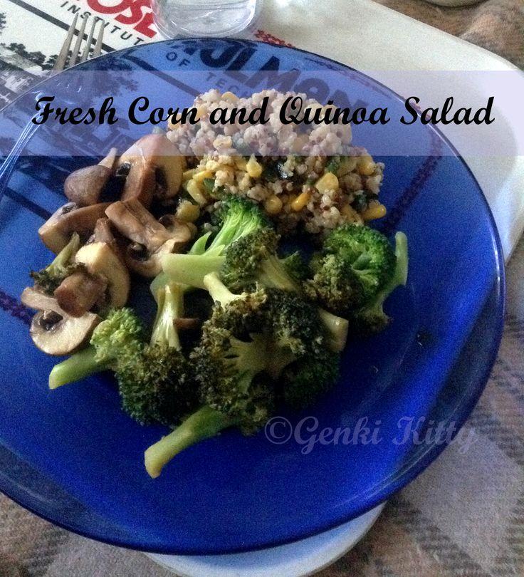 Fresh Corn and Quinoa Salad Recipe