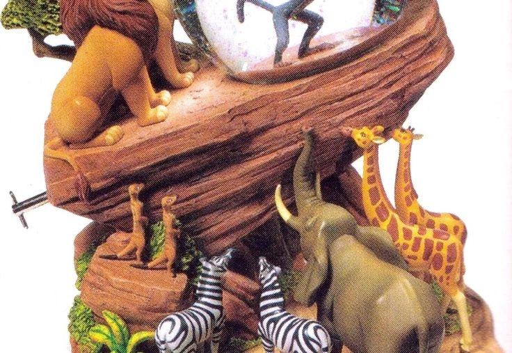 Photo from the Disney Catalog. Lion King Description: Mufasa presents Simba to the animals at Pride Rock. Characters: Mufasa, Rafiki, Simba...