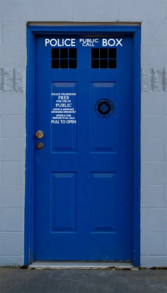 Doctor Who Tardis Door Kit