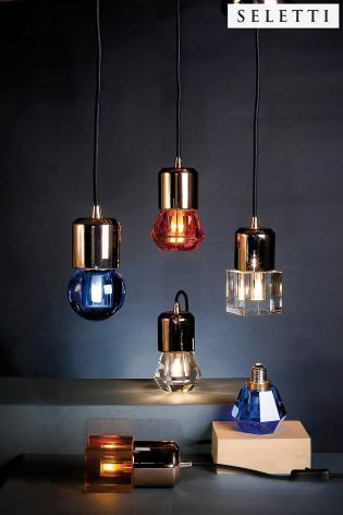 Buy Seletti Nubulbs Pendant Holder For Ceiling Fitting from the Next UK online shop