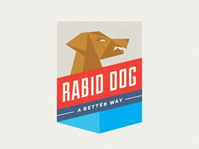 Rabid Dog Logo For Breaking Bad (by Jeremy Loyd For His Branding Bad  Project)