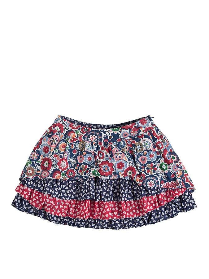 Spódniczka we wzory w rozmiarach 98-128 Mexx 81 PLN  #sale #limango #wyprzedaż #ubrania #dziecięce