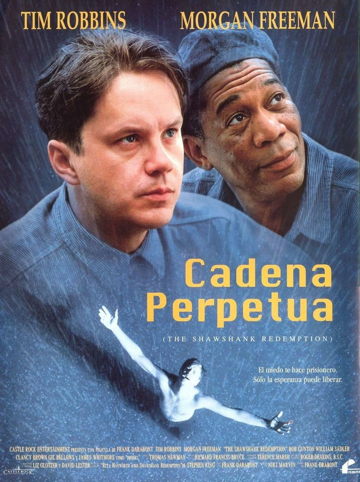 Cadena perpetua (1994) - Ver Películas Online Gratis - Ver Cadena perpetua Online Gratis #CadenaPerpetua - http://mwfo.pro/18556                                                                                                                                                                                 Más