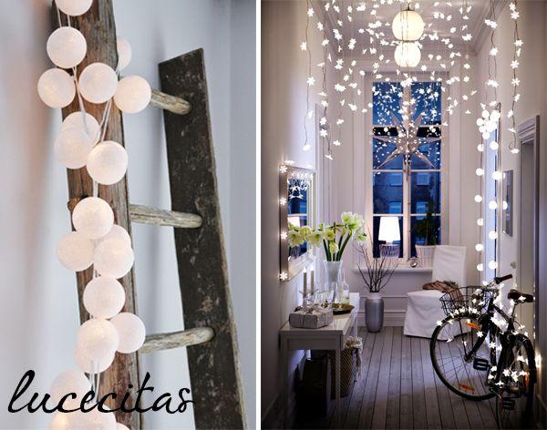 Las guirnaldas de luces están de moda y os contamos cómo podéis hacer la vuestra. ¿Os gustan estos DIY?