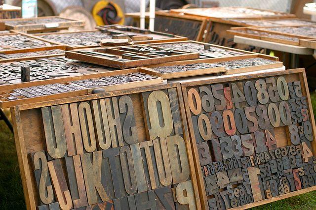 Printing Press Letters | Prints, Letterpress printing, Letterpress