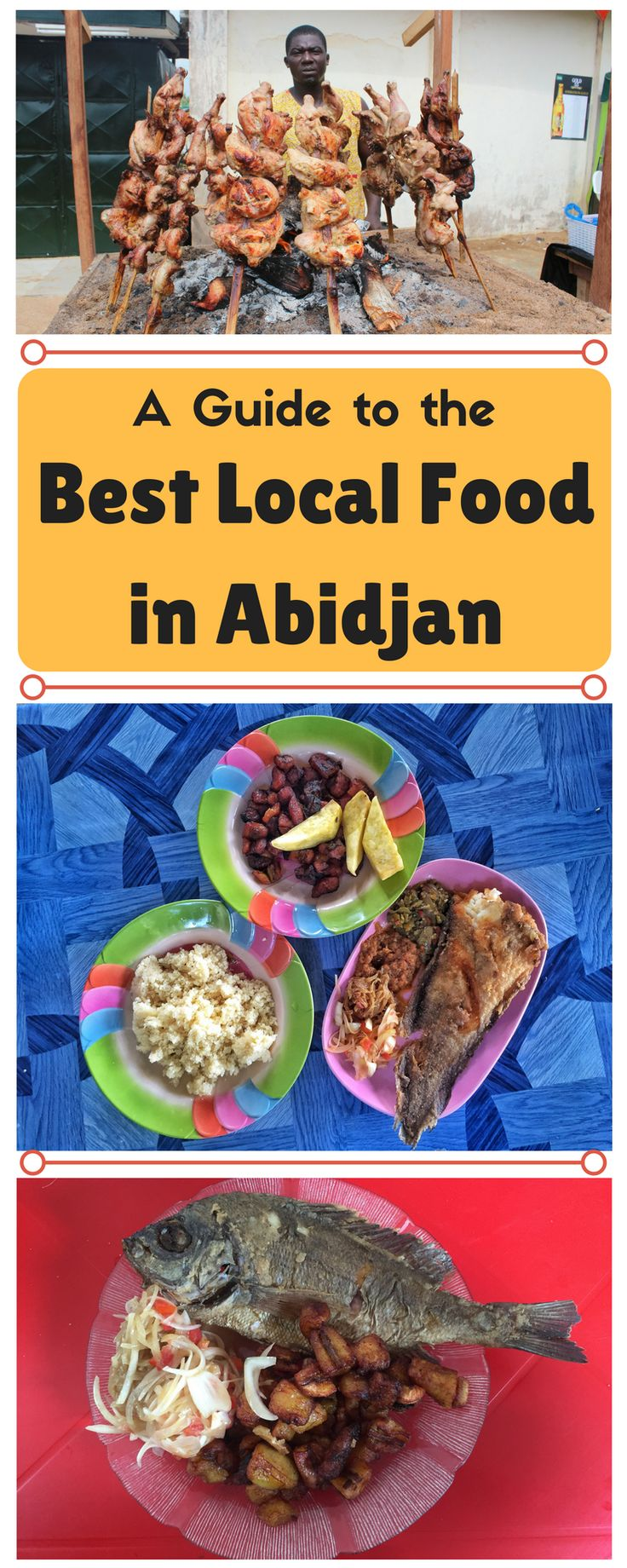 A Guide the the Best Local Food in Abidjan, Ivory Coast | Côte d'Ivoire, West Africa | Maps for Breakfast Travel Blog