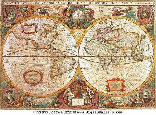 22 best Ancient Maps images on Pinterest Ancient map, Antique maps - new world map online puzzle