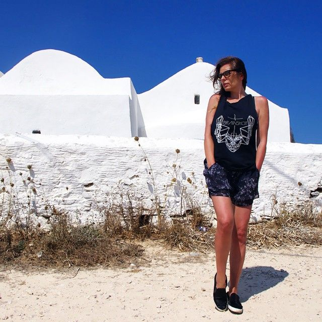 Summer vibes from our lovely miss Margaret Cruzemark. Antiparos is the place!