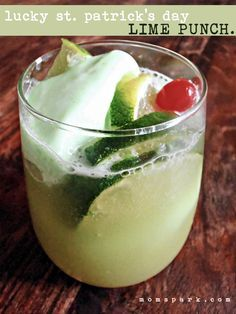 Lucky St. Patrick's Day Lime Punch Recipe http://momspark.net/lucky-st-patricks-day-lime-punch-recipe/?utm_campaign=coschedule&utm_source=pinterest&utm_medium=Mom%20Spark&utm_content=Lucky%20St.%20Patrick%27s%20Day%20Lime%20Punch%20Recipe