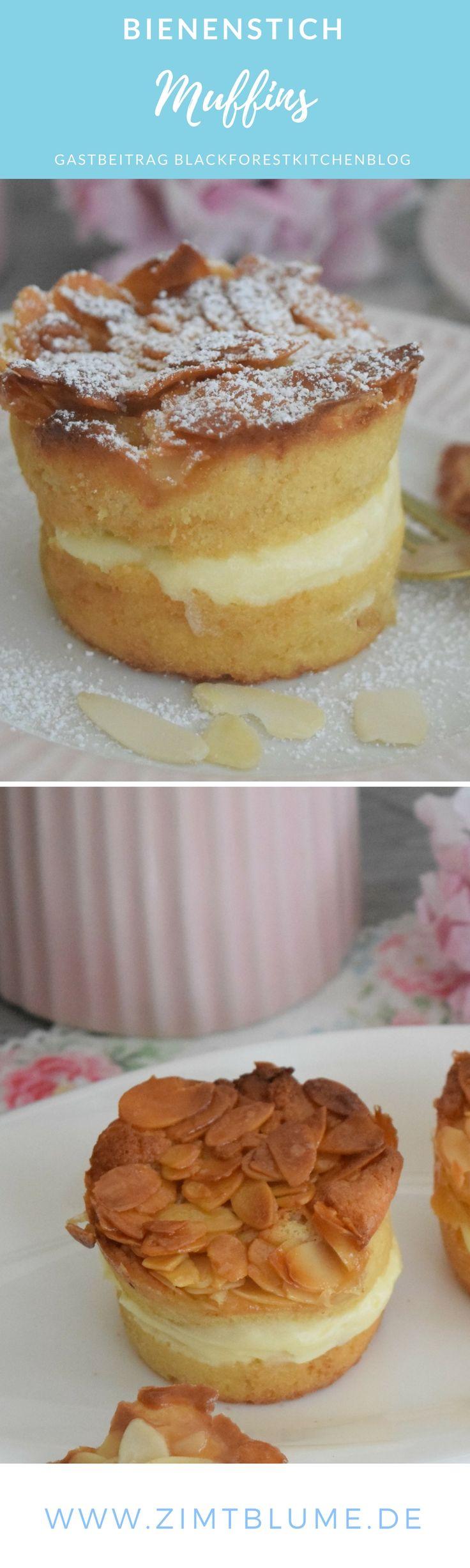 {Gastbeitrag} Rezept für Bienenstich Muffins via @DieZimtblume