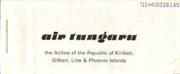 1977, Air Tungaru, South Tarawa, Kiribati #AirTungaru (L16174)
