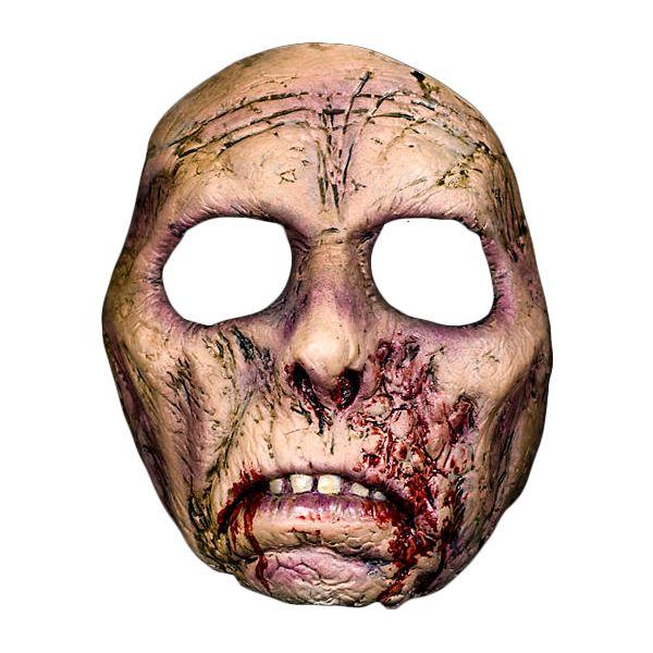 Hjerneløs Zombiemaske - Skummel Halloween maske