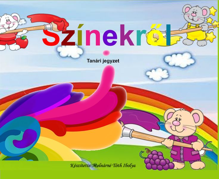 Fotó itt: Rajzóra , színek 1-4. osztály részére /interaktív tananyag/ - Google Fotók