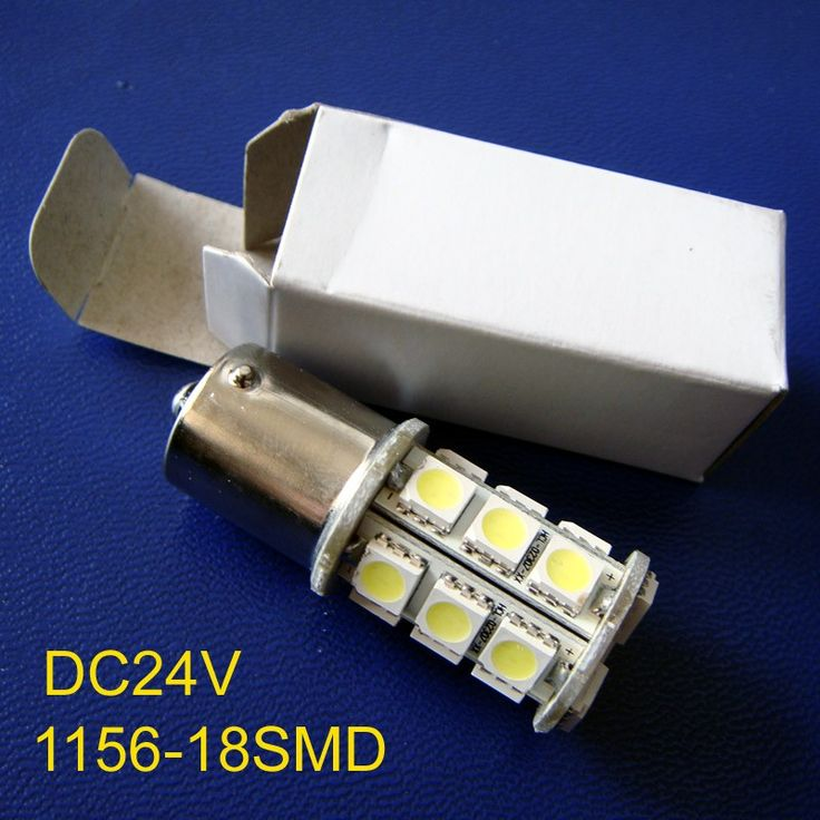 High quality 24V DC10-30V BA15s truck led Light Bulb lamp 1156,BAU15s,P21W,PY21W,R5W,1141 24v led lamps free shipping 10pcs/lot #Affiliate