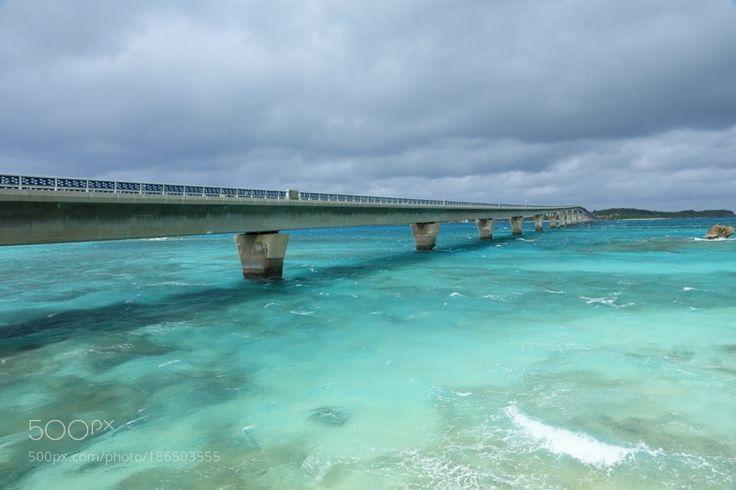 Popular on 500px : IKEMA OHASHI Bridge  MIYAKOJIMA island by gozo_cedars
