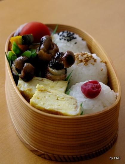Japanese Onigiri Rice Balls Bento Boxed Lunch|おにぎり弁当