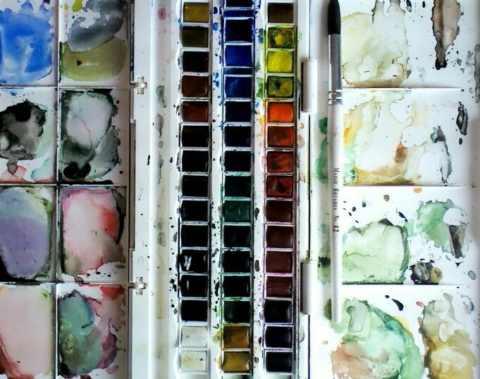 New watercolour paints, love them!