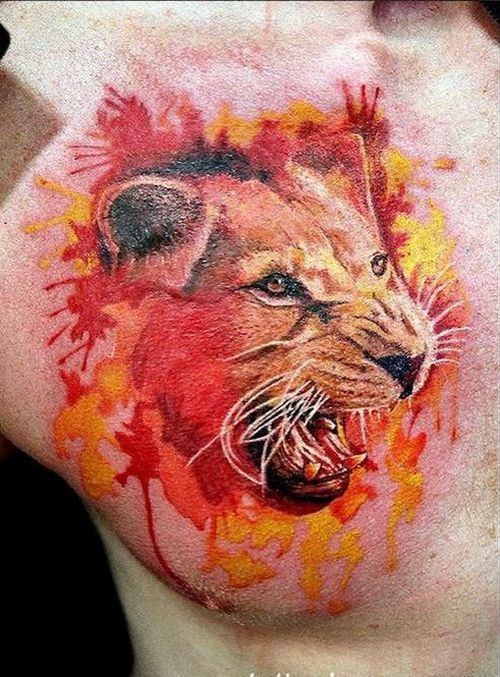 best 25 roaring lion tattoo ideas on pinterest lion