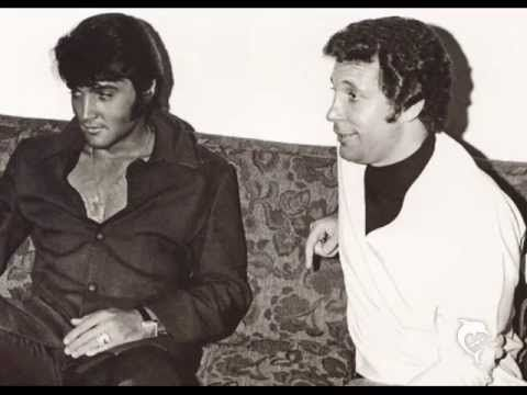 Elvis Presley & Tom Jones---- Backstage & Live On Stage ''I'll Never Fall In Love Again''