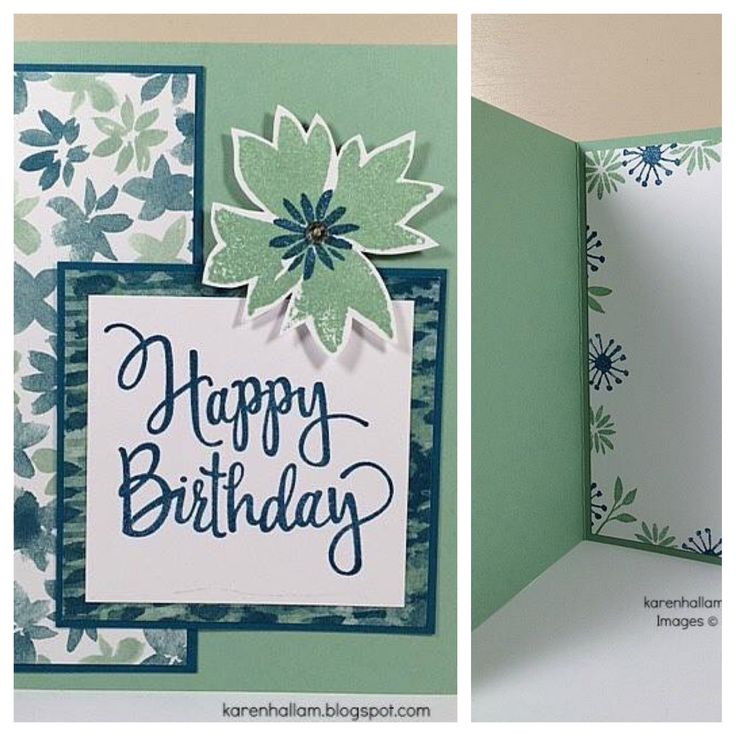 SU! Stylized Birthday and Blooms and Wishes stamp sets, Blooms and Bliss Designer Series Paper - Karen Hallam