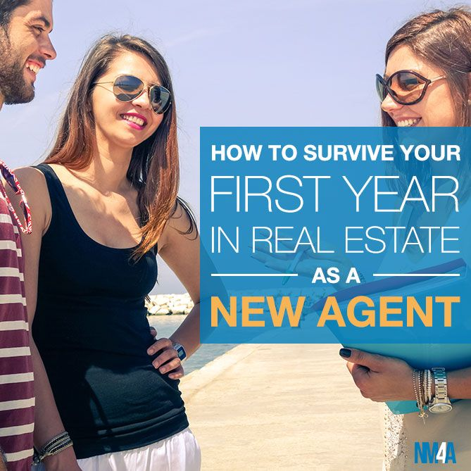 Starting out in real estate can be challenging. Find out how to survive your first year as a real estate agent with these helpful tips!